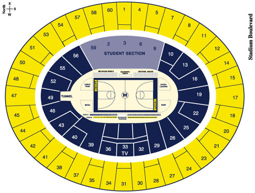 Joe Louis Arena Seating Chart With Rows - Best Seat 2018